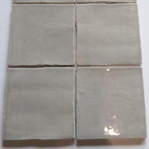 French grey glossy 13x13 cm