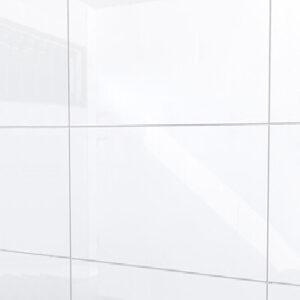 Glans wit 25x40 cm wandtegel