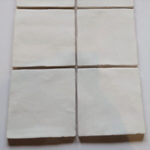 White glossy 13x13 cm