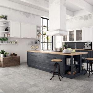 Cottage decor grigio keramische tegel